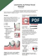 Elementos constituintes da Prótese Parcial Removível