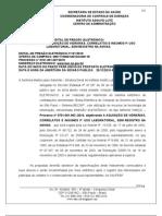 P. ELETRONICO 121/2010 INSUMOS DESCARTAVEIS USO LABORATORIAL