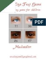 The Eye Test Game