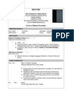 Sample Resume for CIDOS (1).doc