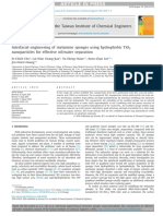 Interfacial engineering of melamine sponges using hydrophobic TiO2 nanoparticles for effective oil-water separation.pdf