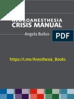 Neuroanesthesia Crisis Manual