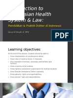 Introduction to Indonesian Health System & Law2