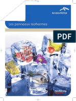 COLD ROOM Brochure 2011 Panneau isothermes
