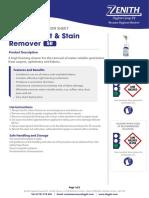 TIS 5R Carpet Spot _ Stain Remover