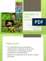 Lesson 1 Highlights of Plant Evolution