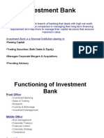 Investment Banking Lec 1