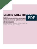 Planilha de Bloquinho - CARNAVAL 2020 - #10dias - TA CHEGANDOOOOOOO