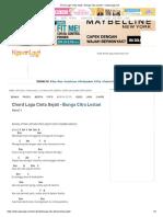 Chord Lagu Cinta Sejati - Bunga Citra Lestari - KapanLagi.com.pdf