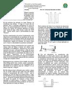 Lista de Exercícios 2020 MECFLU Mecânica dos Fluidos 1