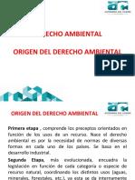 1 Derecho Ambiental Origen del Derecho Ambiental.ppt