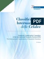 cefalee 3 edizione