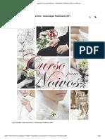 Apostila curso de noivos