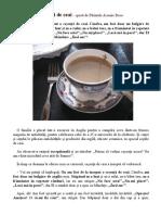 Povestea ceșcuței de ceai