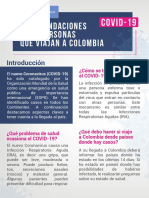 Charla 2. Recomendaciones Viajeros Coronavirus