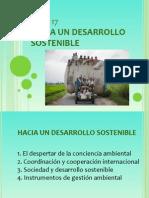 T17. Hacia Un Desarrollo Sostenible
