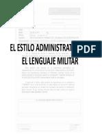 C El estilo administrativo del lenguaje militar.pdf
