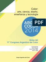 Argencolor 2014 E-book Actas del 11° Congreso Argentino del Color