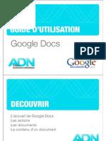 Comment utiliser Google Docs