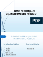 EL INSTRUMENTO PUBLICO