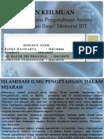 Islam Dan Keilmuan Kel 2