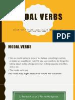 Modal verbs Lesson