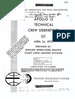 Apollo 13 Technical Debriefing
