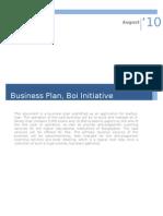 Business Plan Meehan