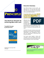 80-20-principle-executive summary