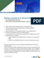 MarocTelecom CP Resultats 2009 FR