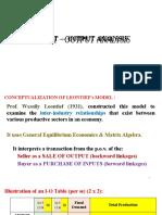 Input Output Analysis (1)