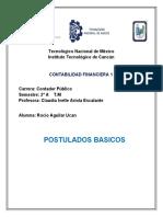 Aguilar Rocio 2.-A C.P POSTULADOS BASICOS