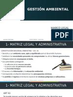 2- Gestión ambiental - Marco legal