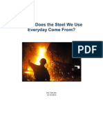 The Steel Making Process