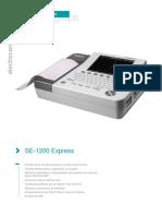 Electrocardiografo - SE-1200 Express