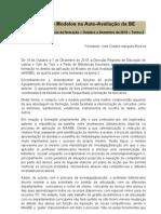 Práticas e Modelos na Auto-Avaliação da BE - Relatório final
