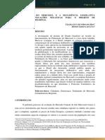 REVISTA DIZER-  O PARLAMENTO NO MERCOSUL