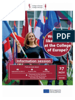 College of Europe presentation