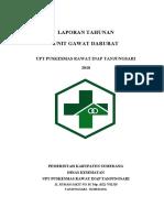 LAPORAN TAHUNAN ugd 2018