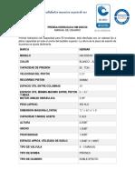 MANUAL PRENSA HIDRAULICA HM2035