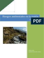 Riesgos ambientales en la región de Cuyo - Leonardo Záccolo