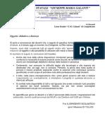 Comunicazione del Dirigente Scolastico 07.03.2020