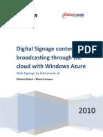 Web Signage Whitepaper Microsoft (EN)