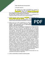 Taller Recuperativo Derecho Procesal Civil I 2
