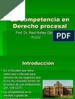 La competencia en Derecho Procesal (2019) (1)