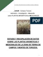 vidAeM ESTUDIO Y RECOPILACIÓN DE DATOS SOBRE LAS PLANTAS AROMÁTICAS Y MEDICINALES.