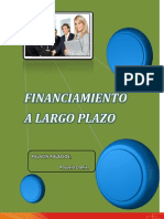 Financiamiento a Largo Plazo
