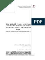 ARHITECTURA PERCEPTIE SI FOBII_rezumat_ro_dana POP