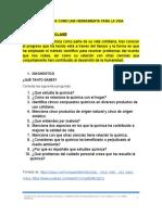 TALLER RECONOCE LA QUÍMICA COMO UNA HERRAMIENTA PARA LA VIDA 2018.docx