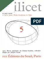Scilicet Livro 5